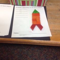 The kids have been asking a lot of questions about space. I started out by setting out some invitations to learn around the room for them to...