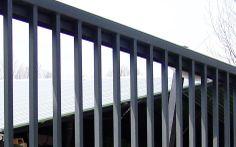 Brama przesuwna  5m ocynk    proszek przemysłowa