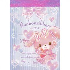 Sanrio Bonbon Ribbon So Sweet Mini Memo Pad (◕ᴥ◕) Kawaii Panda - Making Life Cuter Printed Pages, Sanrio, Panda, Decoupage, Stationery, Bunny, Kawaii, Scrapbook, Type