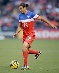 Graham Zusi #19 of the United States