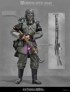 ArtStation - Enhanced Nazi Soldier, Timo Peter