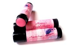 PINK AND PURPLE BUTTERFLY  Personalized Lip Balm by MajesticSoaps, $1.00