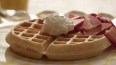 This was my first attempt at waffles and they were very good. I may ...