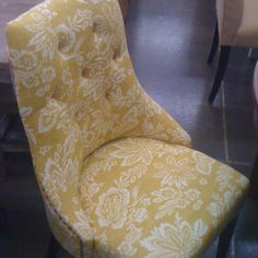 Perfect dining room chair at world market- round breakfast table