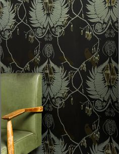 PaperHands hand made screen printed wall paper New zealand NZ made