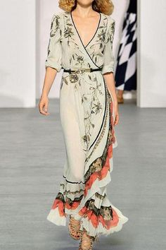 Sexy Maxi Dress, Maxi Dress With Sleeves, Sexy Dresses, Evening Dresses, Fashion Dresses, Casual Maxi Dresses, Formal Outfits, Kimono Dress, Floral Dresses