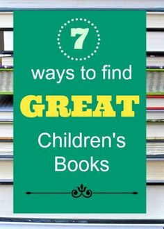 Tips and places for parents to find good books for their kids