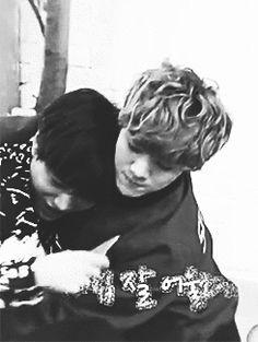 "Luhan's face is like, ""Yes, finally, Jongin, My Love!"" XD XD"