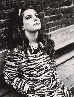 Liv Tyler by Ellen von Unwerth for Vogue Italia, circa 1995.