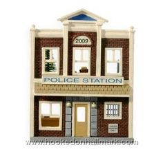 Police Station, Nostalgic Houses & Shops Series Hallmark Ornament, 2009