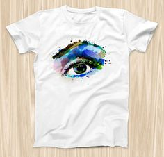 The Soul Stare Eye ink-Fuzed Graphic Fashion by TheSkinDudes