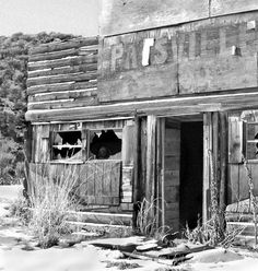 Old Brothel in Nevada