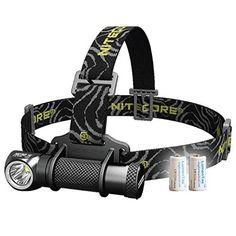 Bundle:Nitecore HC30 1000 Lumens Cree XM-L2 U2 LED Watereproof Headlamp With Nitecore F1 Charger and Nitecore NL186 18650 Battery and Skyben USB Light