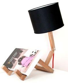 única lámpara velador de mesa escritorio articulada! diorama