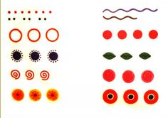 Dymkovo - patterns