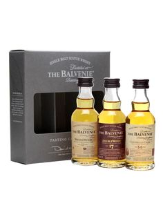 Balvenie - Doublewood 12 & 17 Year Old, Caribbean 14 Year Old 3x5cl : The Whisky Exchange