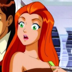 Image about totally spies in Cartoon Ginger Cartoon Characters, Redhead Characters, Cartoon Icons, Red Hair Cartoon, Girl Cartoon, Cartoon Profile Pictures, Cartoon Images, Old Cartoons, Disney Cartoons