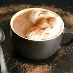 Single Serving Microwave Hot Chocolate -- 3 ingredients, ready in 1 minute
