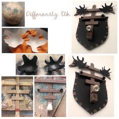 Differently Elk Elk, Wood Watch, Accessories, Bricolage, Moose, Wooden Clock, Jewelry Accessories