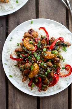 30 Minute Sweet Asian Chili Pork, Ginger and Tangerine Stir Fry | halfbakedharvest.com