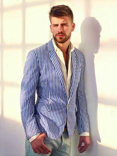 a13a65919917 Veste de costume · Jacket by HE Mango. Fashion Articles