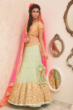 Indian Bridal Lehenga Designs 16