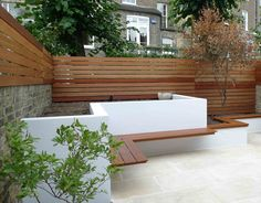 Image result for modernist white fence
