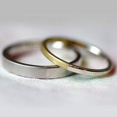 Pt / K18 / marriage ring [platina,Gold,結婚指輪,Wedding ring,ウエディング]