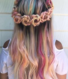 60 Gorgeous Braids for Long Hair to Show Off in 2018 - Frisuren - Kids Style Box Braids Hairstyles, Pretty Hairstyles, Straight Hairstyles, Wedding Hairstyles, Short Hairstyles, Festival Hairstyles, Cute Hairstyles For Kids, American Hairstyles, Holiday Hairstyles