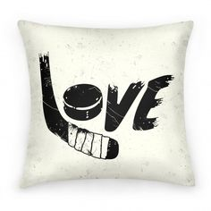 Love Hockey | Pillows and Pillow Cases | HUMAN