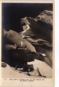 Postcard-TIBET-1924-British-Mount-Everest-expedition-the-North-Col-339