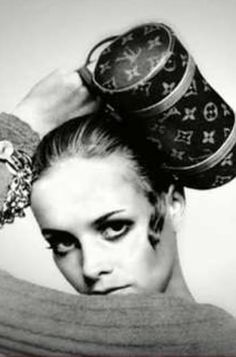 twiggy + louis vuitton