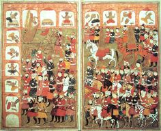 Muhammad destroying idols - This Day in History: Dec 11, 630: Muhammad leads an army of 10,000 to conquer Mecca.