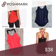 Bundle - 2 Nike Elastiska Tanks Perfect for training in the gym and layering over your favorite bright sports bra, 81% polyester, 19% spandex, loose fitting, machine wash cold.  NWOT. Nike Tops Tank Tops