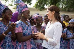 Crown Princess Mary of Denmark visit Senegal