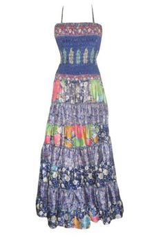 Boho chic bohemian boho style Beach Dresses by baydeals