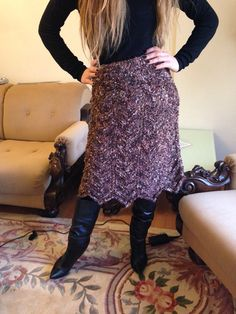 Copper Brown Wool Knit Skirt - Mohair Skirt  https://www.etsy.com/listing/219937243/copper-brown-wool-knit-skirt-mohair?ref=shop_home_active_23