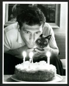 Vintage Siamese Cat Photo