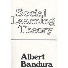 Bandura, A. (1977). Social Learning Theory. General Learning Press.