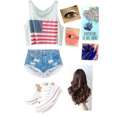 Chilling at the park by hey-its-tati on Polyvore featuring polyvore, fashion, style, Converse, Disney and Charlotte Tilbury