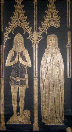 Elizabeth Wardeux 1346–1400 BIRTH 1346 • Bodiam Manor, Sussex, England DEATH 1400 • Bodiam Castle, Sussex, England 19th great-grandmother. Burial: Unknown (Brian Family) Husband: Edward Dalyngrigge