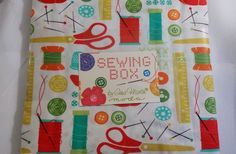 SALE! Ends 9-6-14, only $22.50!  10 inch Layer Cake Sewing Box 10010LC MODA 100% Cotton Fabric, Novelty #Moda
