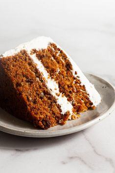 My favorite vegan carrot cake with cream cheese frosting has the perfect crumb! It's a great option for Easter and any spring celebration. Vegan Carrot Cakes, Vegan Cake, Vegan Desserts, Vegan Yogurt Cake Recipe, Vegan Recipes, Vegan Sweets, Vegan Foods, Vegan Cream Cheese, Cake With Cream Cheese