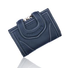 2017 100% Genuine Cow Leather short design large capacity Hasp women's wallet Female Wallets Coin Purses  Holders