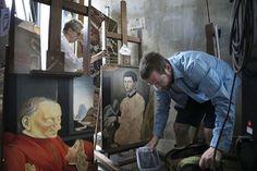 Chaque Année le Louvre accorde 250 Autorisations à des Artistes pour copier le Chef-d'œuvre de leur Choix (2)
