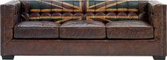 Andrew Martin Union Jack sofa.