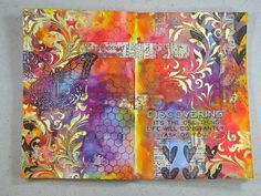 Annette's Creative Journey: March Art Journal Pages