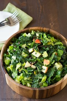 California Cafe's Kale and Apple Salad