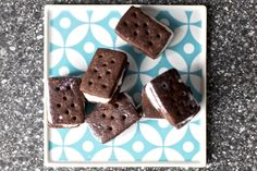 Classic Ice Cream Sandwiches Recipe Desserts with all-purpose flour, unsweetened cocoa powder, unsalted butter, granulated sugar, table salt, large egg yolks, vanilla extract