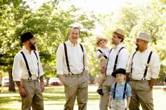 Amish inspired hipster wedding  |  The Frosted Petticoat